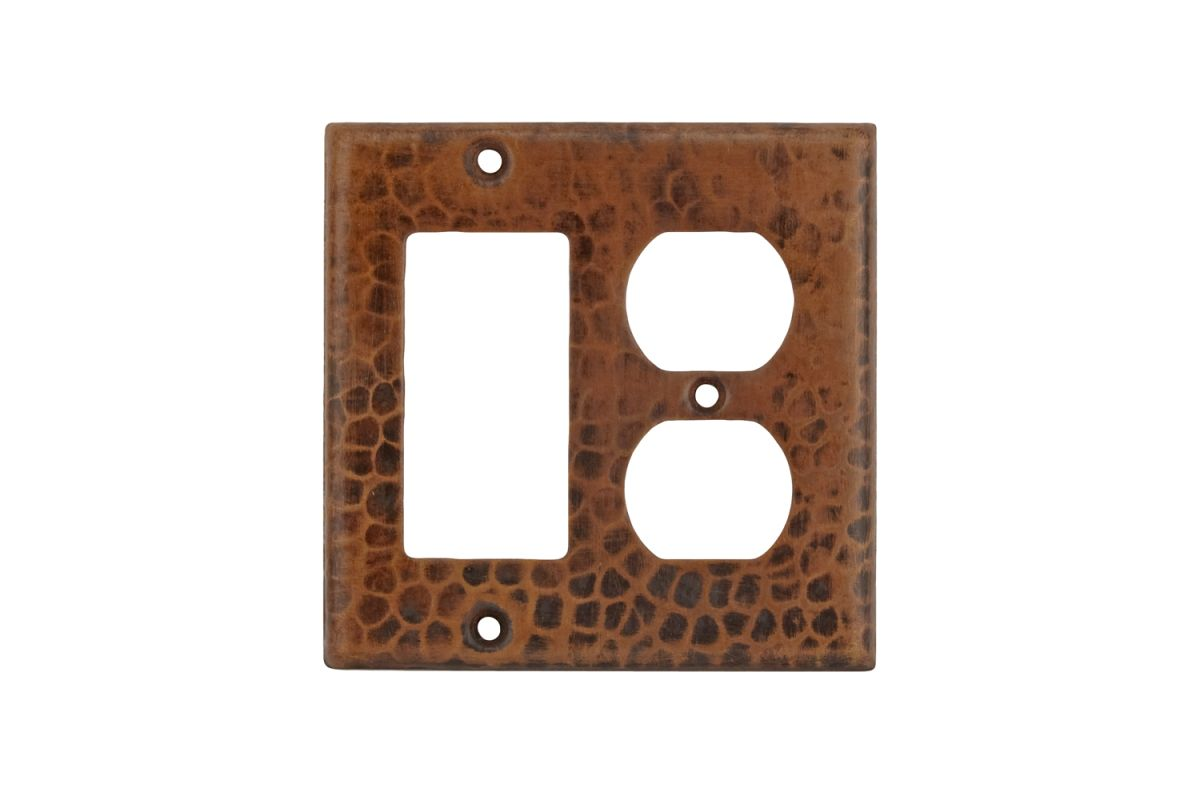 Premier Copper Products SCOR Copper Combination Switchplate 2 Hole Sale $19.99 ITEM: bci2629355 ID#:SCOR UPC: 813584011573 :