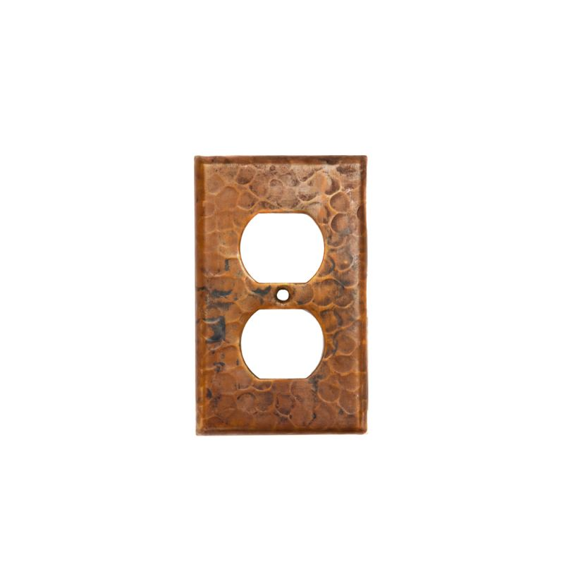 Premier Copper Products SO2 Copper Switchplate Single Duplex 2 Hole