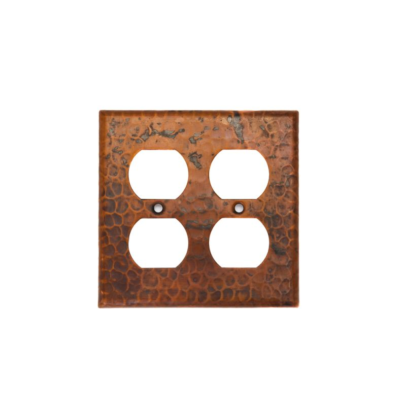 Premier Copper Products SO4 Copper Switchplate Double Duplex 4 Hole Sale $19.99 ITEM: bci981913 ID#:SO4 UPC: 813584010873 :