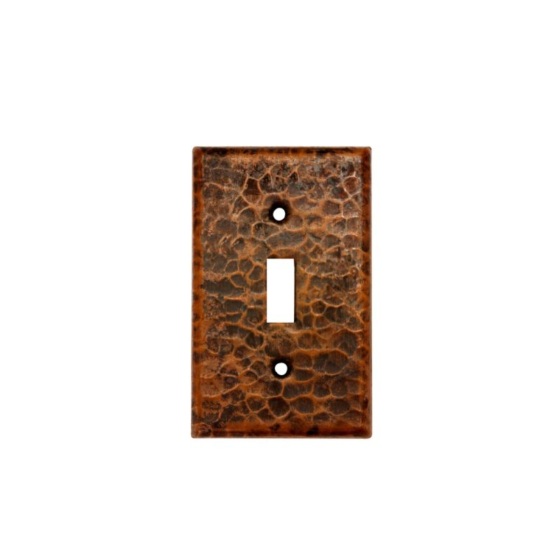 Premier Copper Products ST1 Copper Switchplate Single Toggle Switch