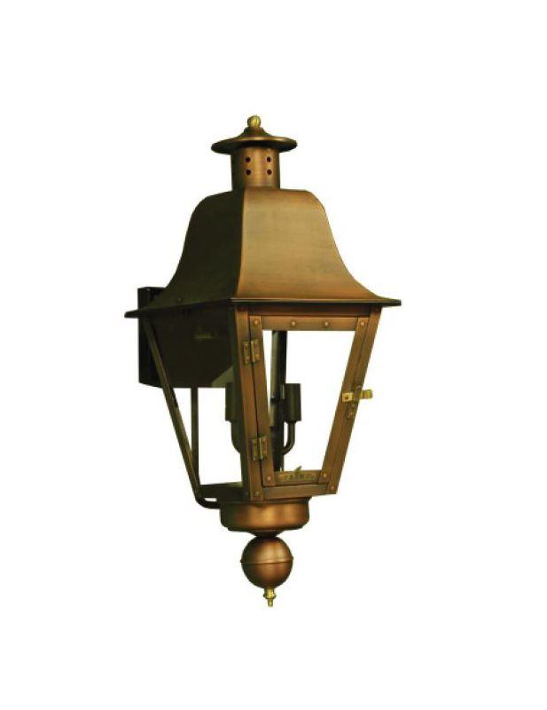 "Primo Lanterns PL-301E 2 Light 24"" Outdoor Wall Sconce Copper Outdoor"