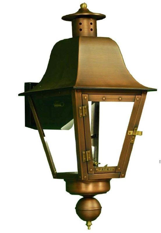 "Primo Lanterns PL-301 Audubon 24"" Gas Outdoor Wall Mounted Lantern"