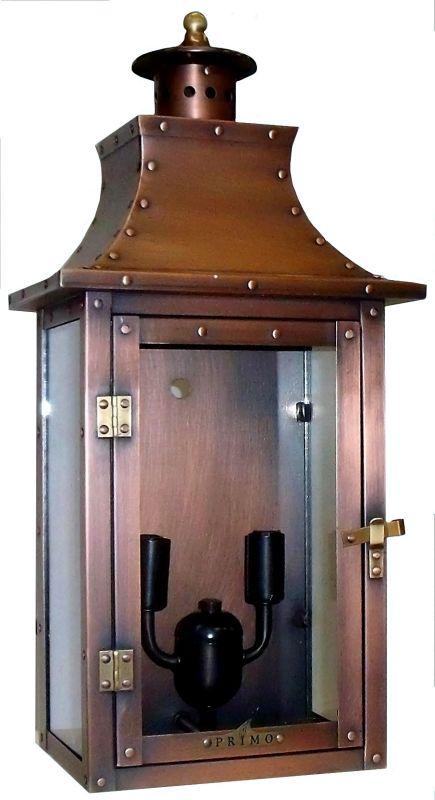 Primo Lanterns Pl 21fe Aged Copper 21 Quot Outdoor Flush Mount