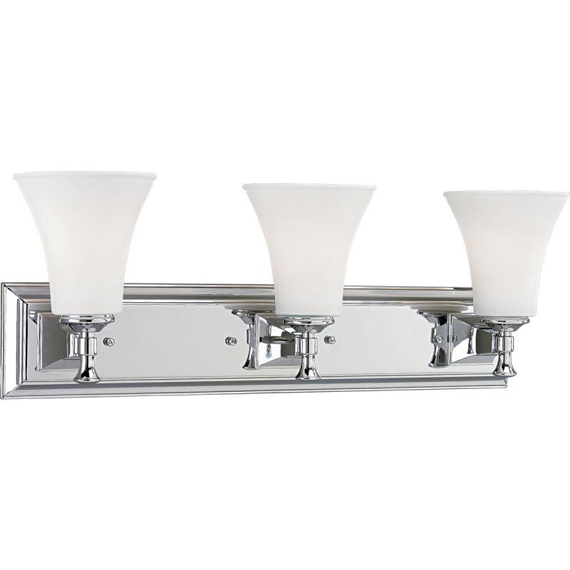 Progress Lighting P3133 Fairfield Three-Light Bathroom Fixture with Sale $228.70 ITEM: bci355641 ID#:P3133-15 UPC: 785247117017 :