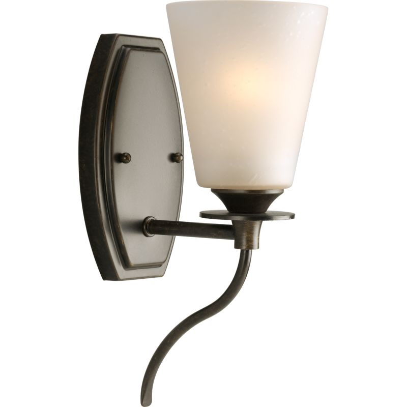 "Progress Lighting P3216 Cantata 1 Light 4.75""W Bathroom Sconce Forged"