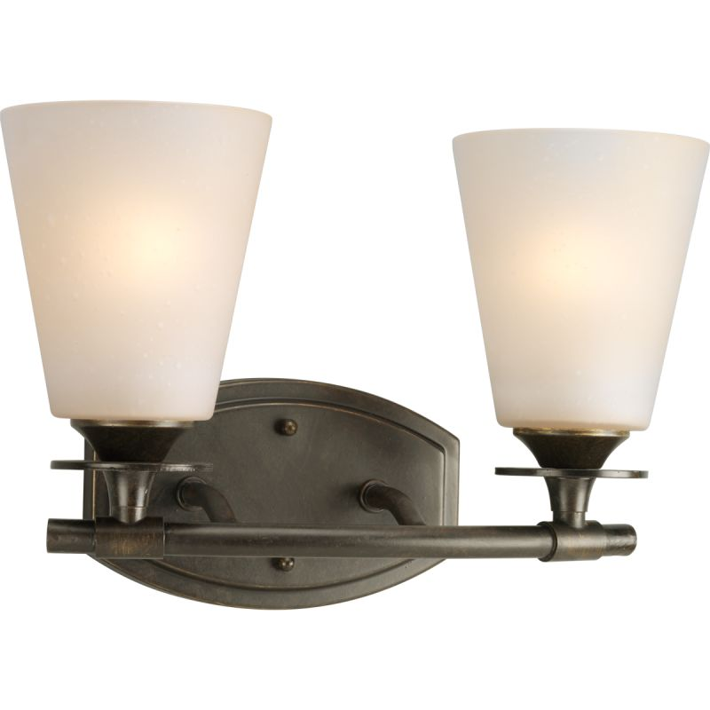 "Progress Lighting P3222 Cantata 2 Light 13""W Bathroom Vanity Light"