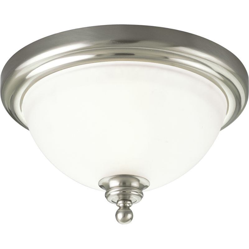 "Progress Lighting P3311 Madison 12"" Single Light Flush Mount Ceiling"