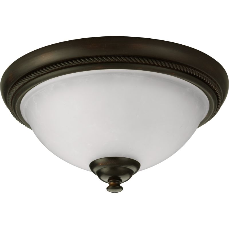 "Progress Lighting P3478 Pavilion 12"" Single-Light Flush Mount Ceiling"