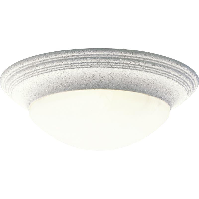 "Progress Lighting P3697 Alabaster Glass 16-5/8"" Three Light Flush"
