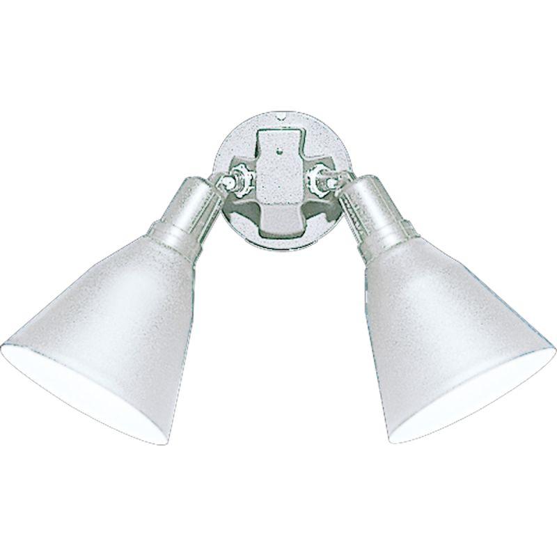 Progress Lighting P5203 2 Light Dual Head Flood Light with Metal