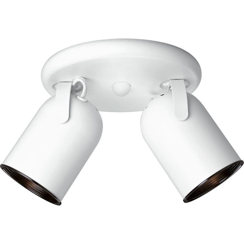 "Progress Lighting P6149 Directional Series 8-1/8"" Two-Light Fully"