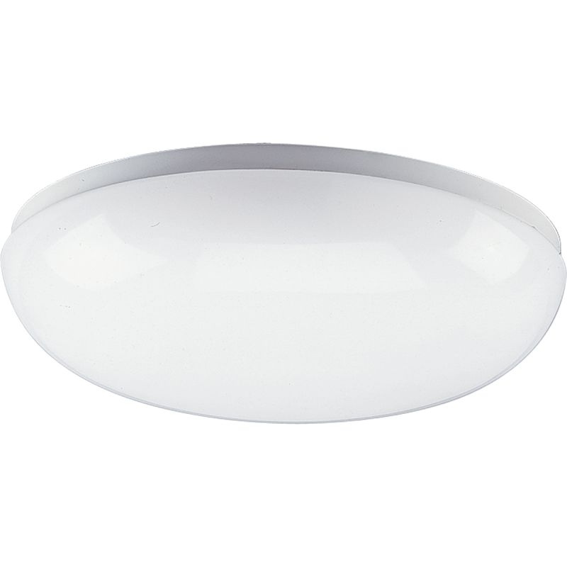 "Progress Lighting P7383 Round Clouds 14"" Two-Light Energy Efficient"