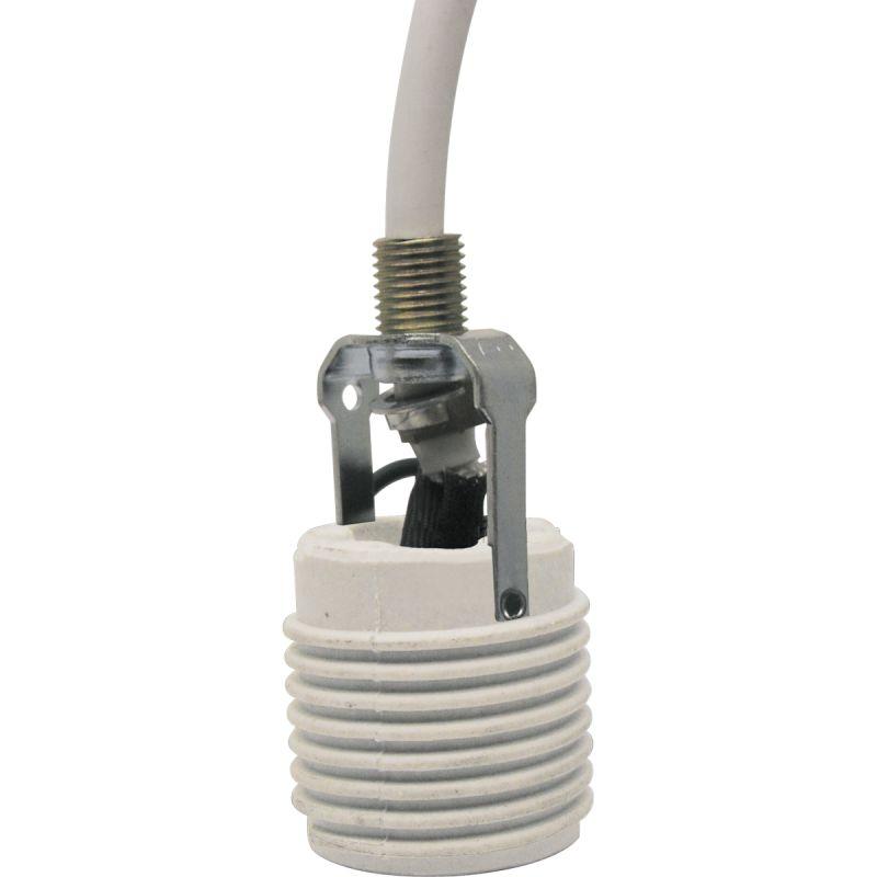 Progress Lighting P8625 15ft. Cord Extender for High Ceilings White