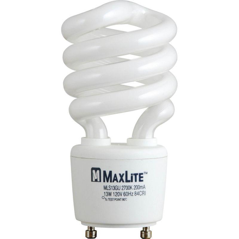 Progress Lighting MLS13GUWW 13-Watt Self-Ballasted GU24 Base CFL 2700K