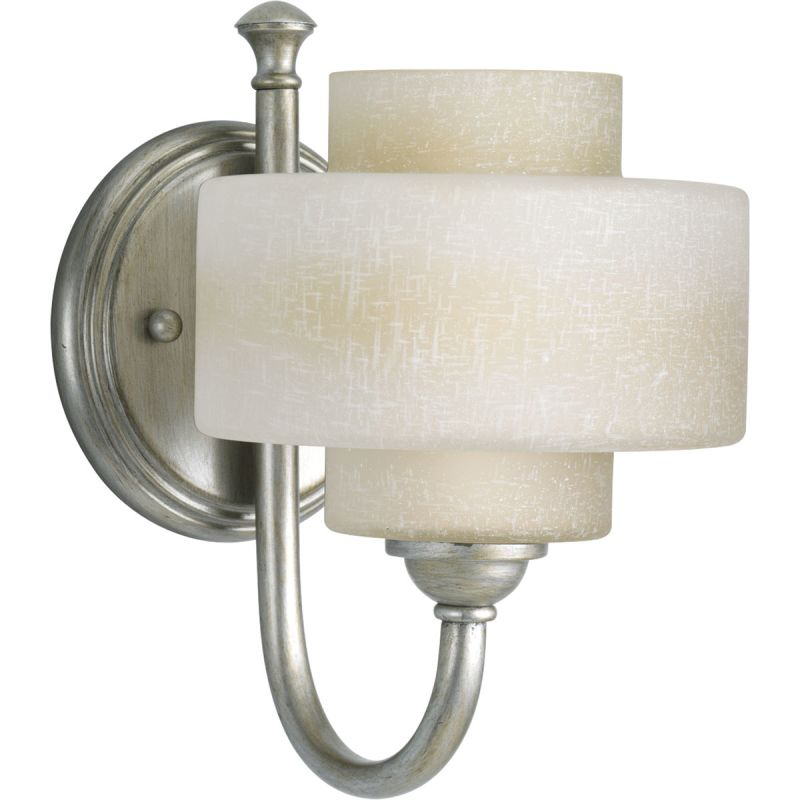 Progress Lighting P2885 Ashbury Single-Light Bathroom Sconce with