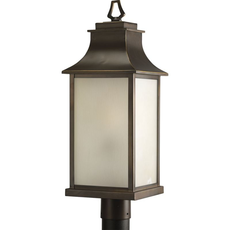 Progress Lighting P5453 Salute Single-Light Post Lantern with Etched Sale $246.23 ITEM: bci1708935 ID#:P5453-108 UPC: 785247164226 :