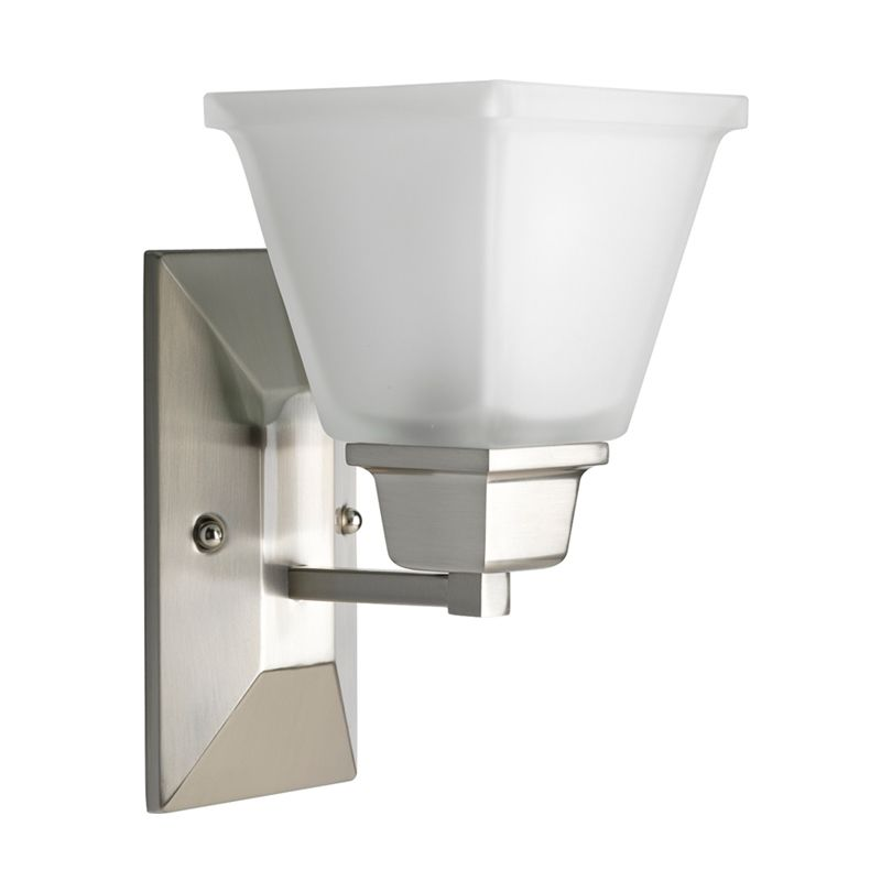 Progress Lighting P2733 North Park 1 Light Bathroom Wall Sconce with
