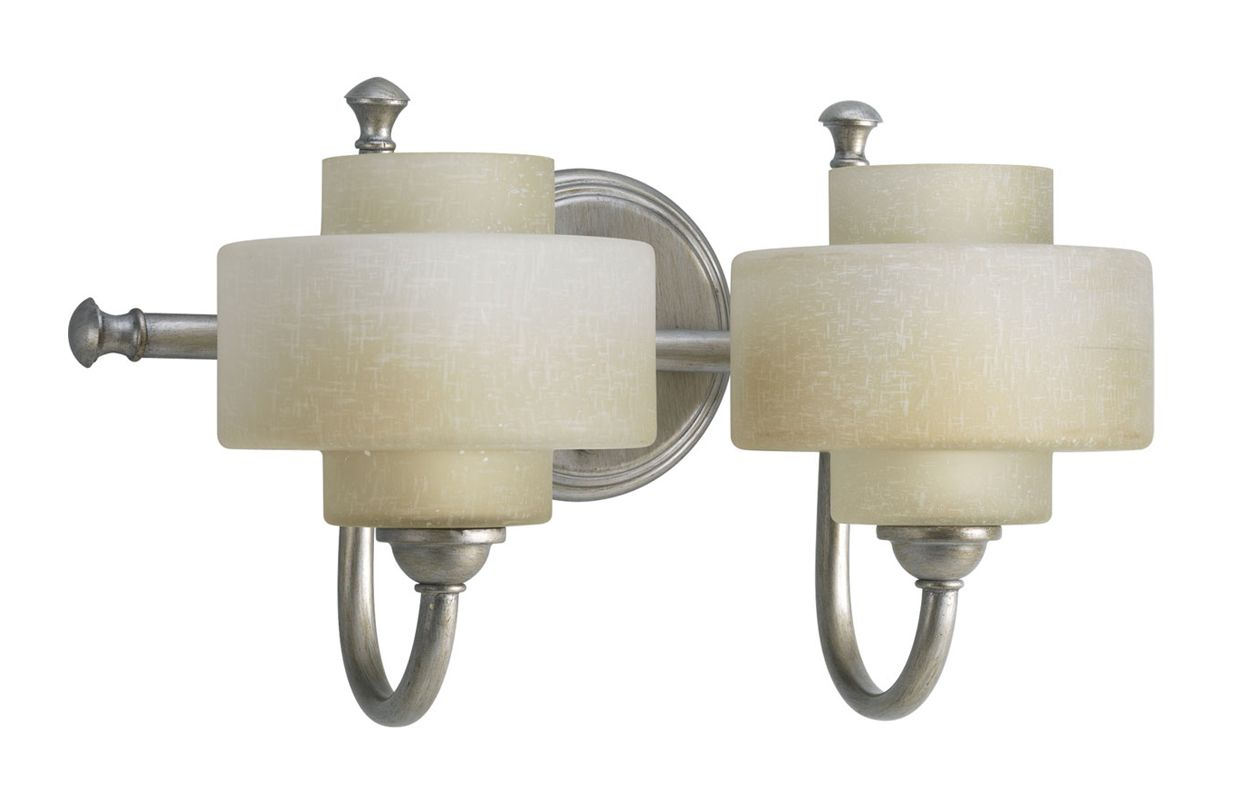 Progress Lighting P2886 Ashbury Two-Light Bathroom Fixture with