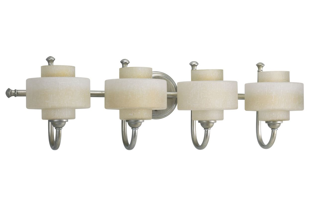 Progress Lighting P2888 Ashbury Four-Light Bathroom Fixture with