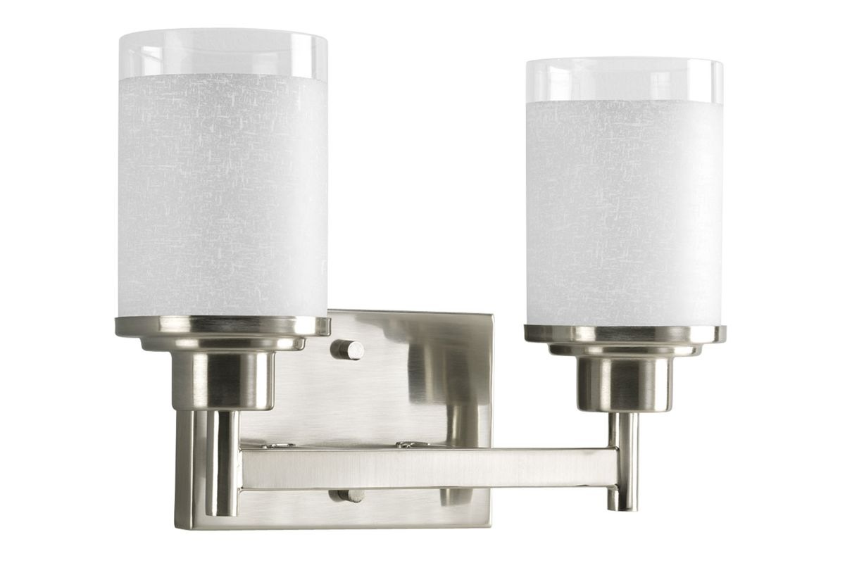 Progress Lighting P2977 Alexa 2 Light Bathroom Vanity Light with