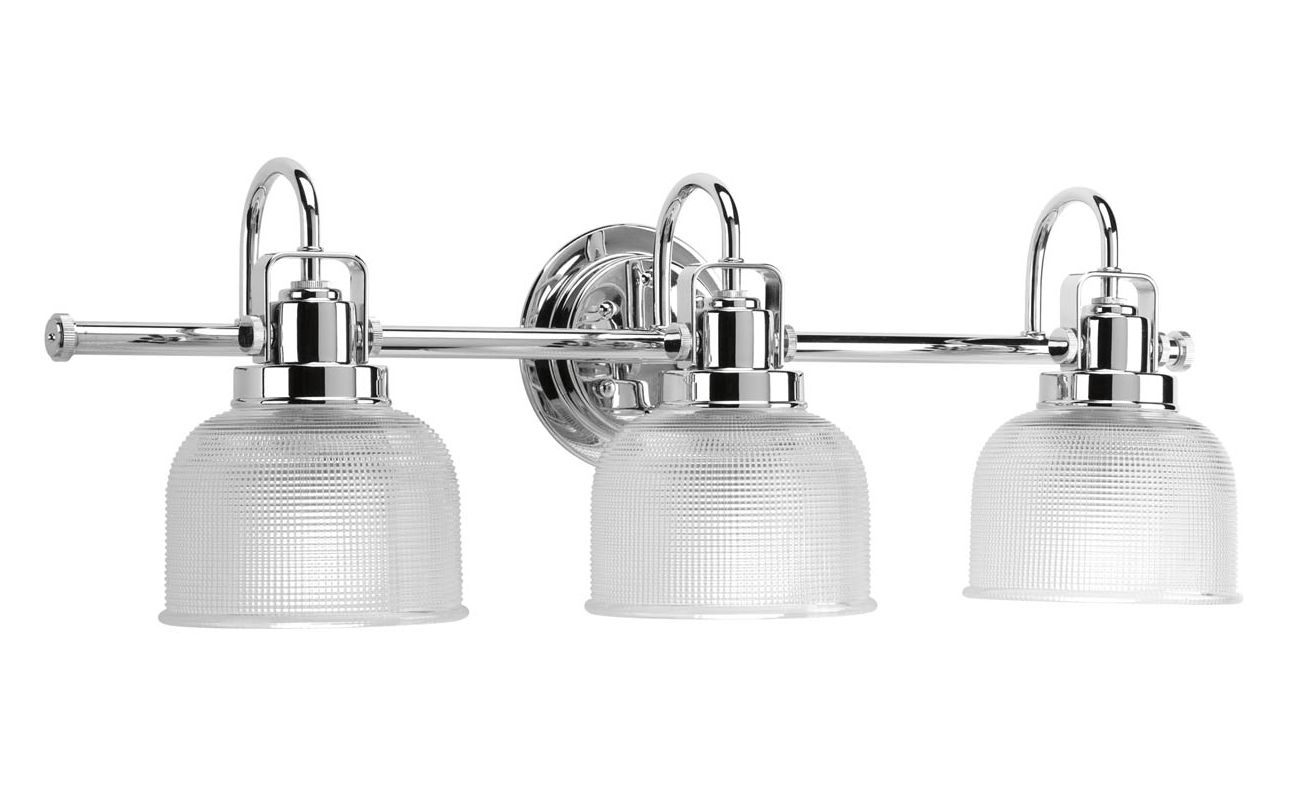 Progress Lighting P2992-15 Chrome Industrial Archie Bathroom Light