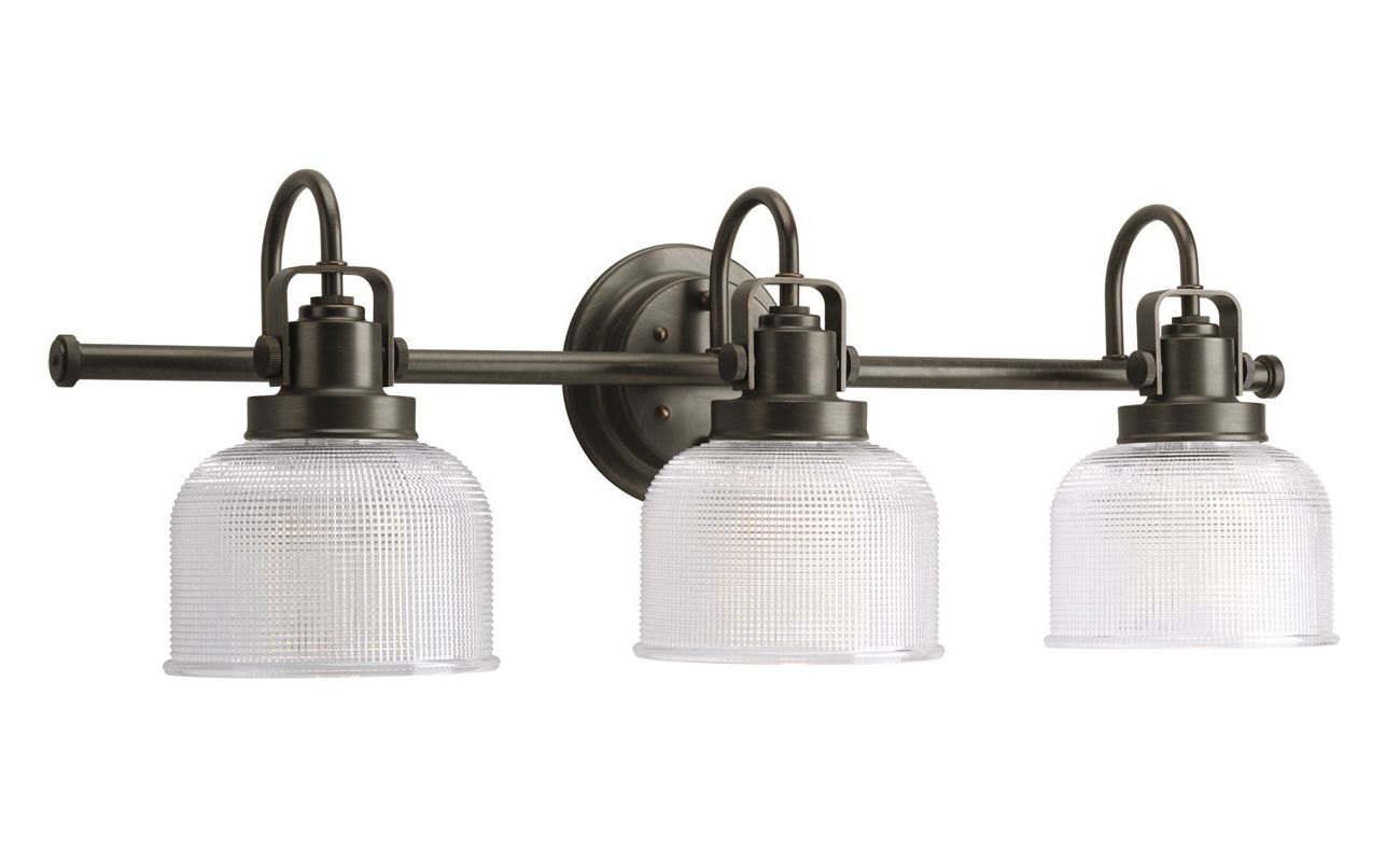Progress Lighting P2992-74 Bronze Industrial Archie Bathroom Light