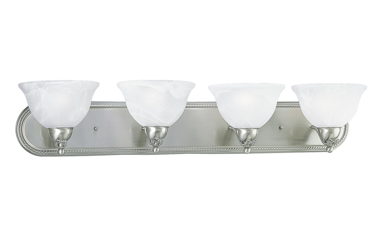 Progress Lighting P3269 Avalon Four Light Bathroom Vanity Strip