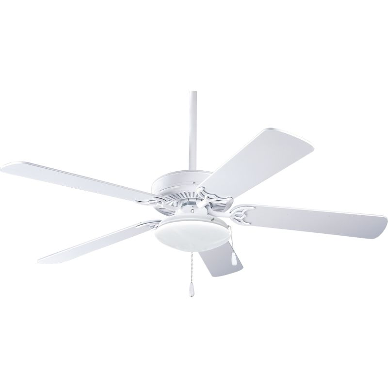"Progress Lighting Builder 52 L1 Builder 52"" 5 Blade Ceiling Fan -"