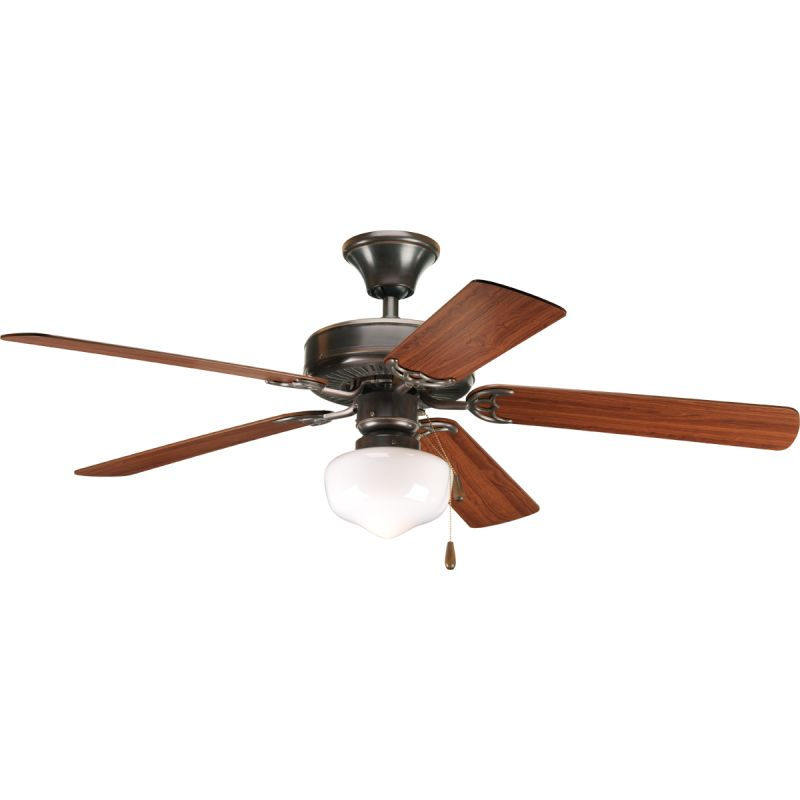 "Progress Lighting Builder 52 S1 Builder 52"" 5 Blade Ceiling Fan -"