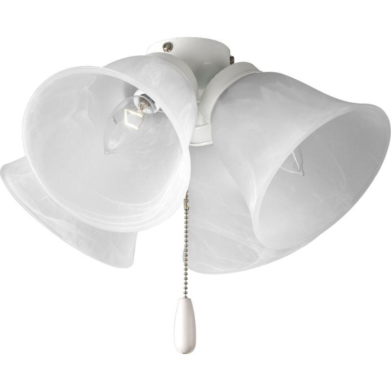 Progress Lighting P2643 4 Light Candelabra Base Fitter Light Kit White Sale $48.33 ITEM: bci578648 ID#:P2643-30 UPC: 785247149575 :