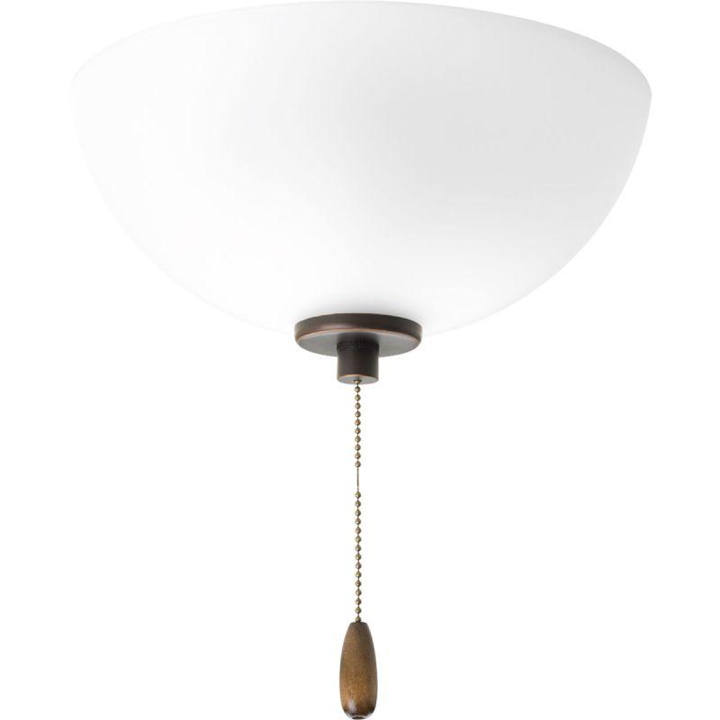 Progress Lighting P2658 Gather 2 Light Bowl Fan Light Kit Antique