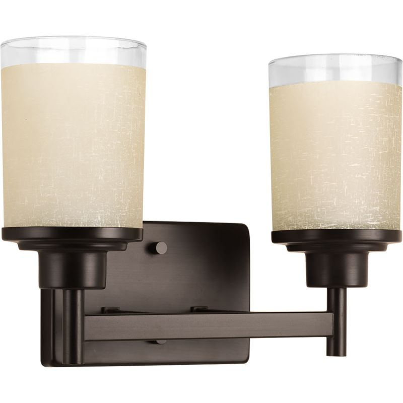 Progress Lighting P2977 Alexa 2 Light Bathroom Vanity Light with
