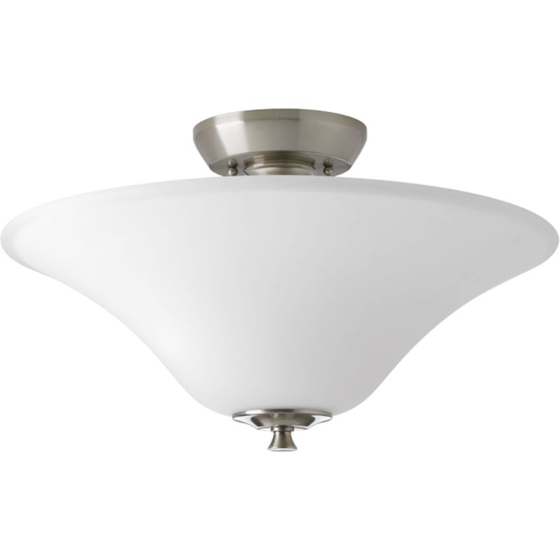 "Progress Lighting P3440 Cantata 2 Light 15.75""W Semi-Flush Ceiling"