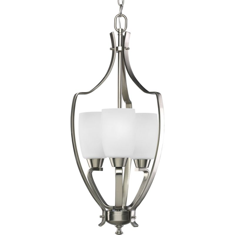Progress Lighting P3509 Wisten 3 Light Cylinder Pendant with Etched