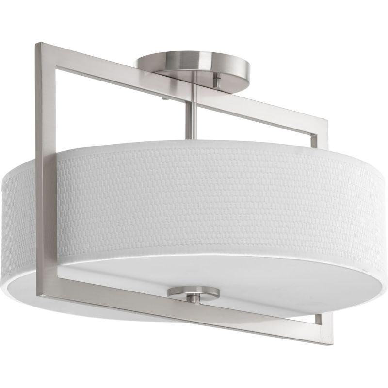 "Progress Lighting P3530 Harmony 15"" Wide 3 Light Semi-Flush Ceiling"