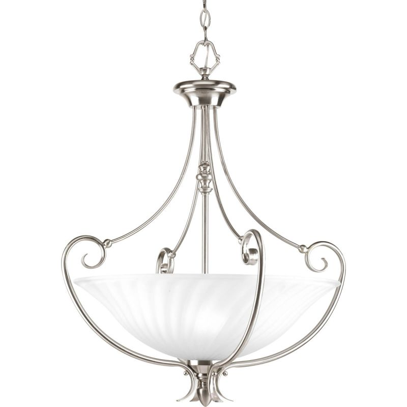 Progress Lighting P3532 Kensington 3 Light Bowl Pendant with Etched
