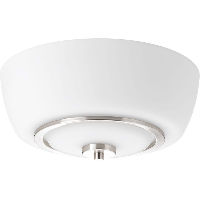 "Progress Lighting P3670 Fleet 13"" Wide 2 Light Flush Mount Ceiling"