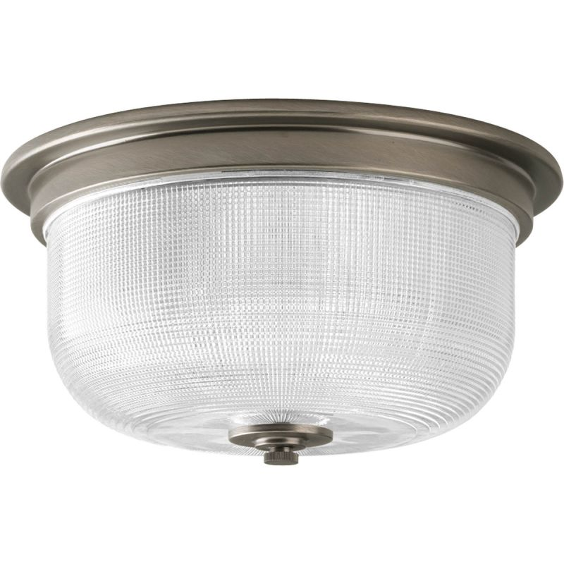 Progress Lighting P3740-81 Nickel Industrial Archie Ceiling Light