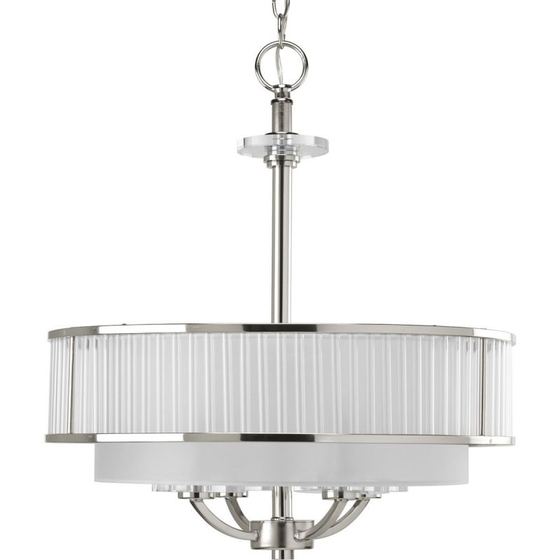 Progress Lighting P3881 Nisse 4 Light Cylinder Pendant with Dual Sale $688.60 ITEM: bci1708790 ID#:P3881-104 UPC: 785247163830 :