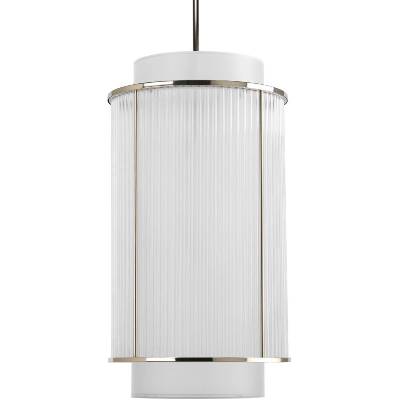 Progress Lighting P3938 Nisse 2 Light Cylinder Pendant with Dual Sale $258.46 ITEM: bci1886237 ID#:P3938-104 UPC: 785247167333 :