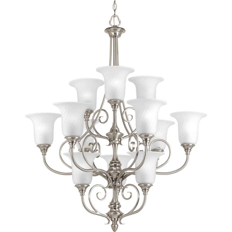 Progress Lighting P4314 Kensington Twelve Light Three-Tier Up Lighting Sale $918.54 ITEM: bci2217169 ID#:P4314-09 UPC: 785247176823 :