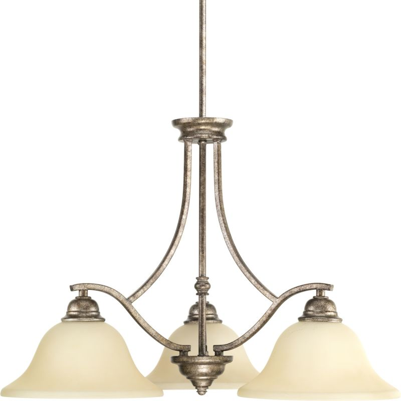 "Progress Lighting P4559 Spirit Chandelier with 3 Lights - 27"" Wide"