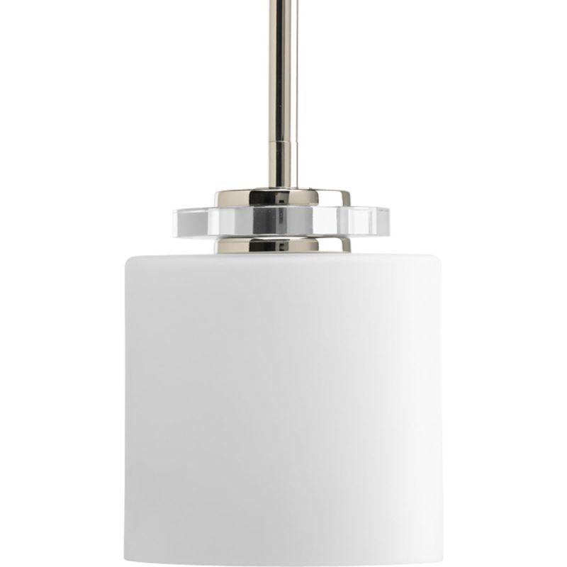 Progress Lighting P5019 Nisse 1 Light Cylinder Pendant with Etched