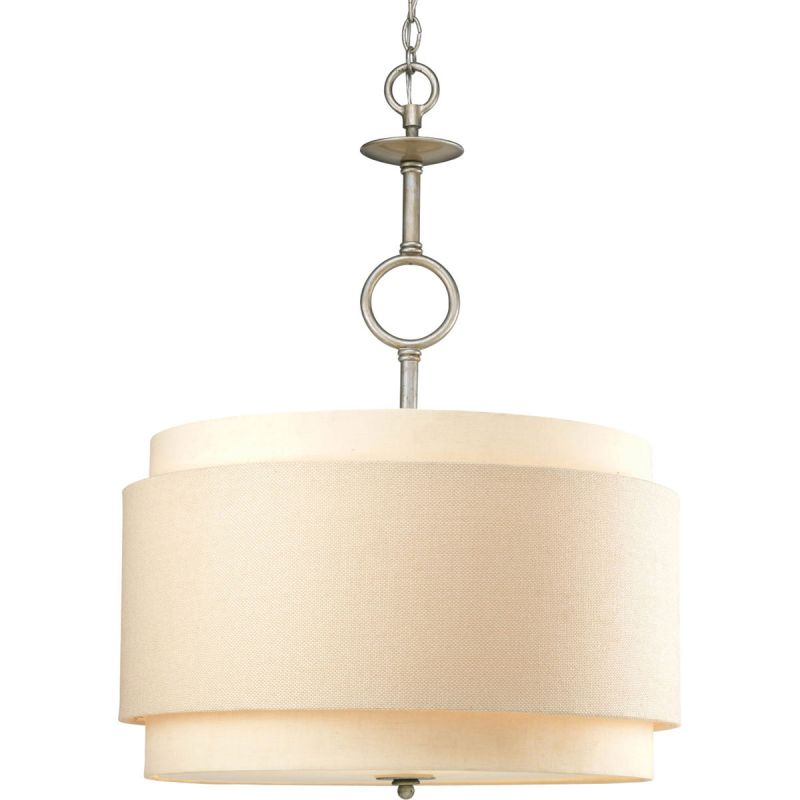 Progress Lighting P5056 Ashbury 3 Light Cylinder Pendant with Dual Sale $577.90 ITEM: bci579097 ID#:P5056-134 UPC: 785247151899 :
