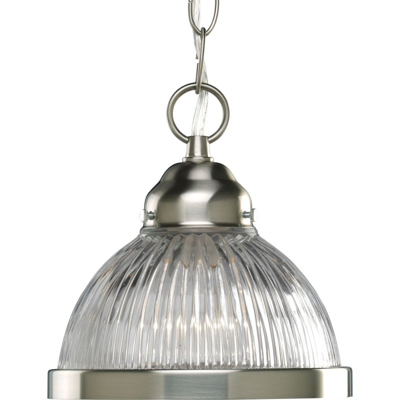 Progress Lighting P5080 Prismatic 1 Light Dome Pendant with Prismatic Sale $56.16 ITEM: bci579104 ID#:P5080-09 UPC: 785247161621 :