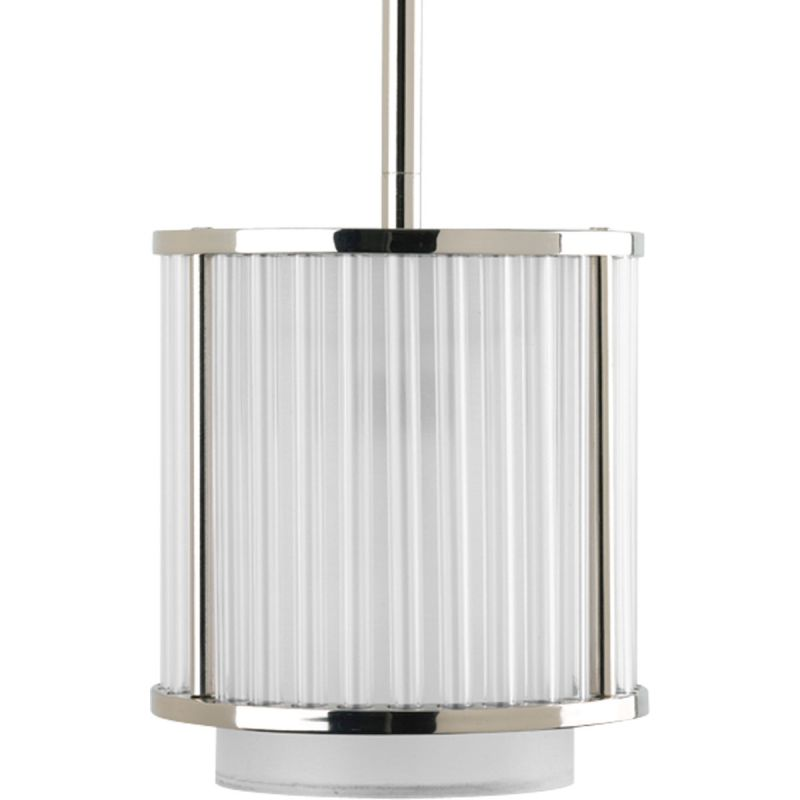Progress Lighting P5105 Nisse 1 Light Cylinder Pendant with Dual