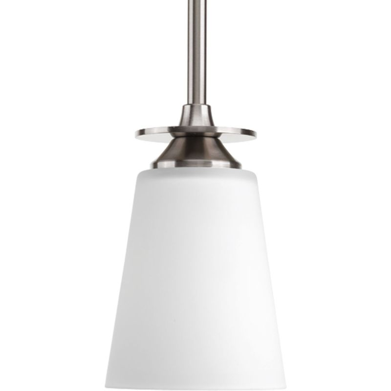 Progress Lighting P5139 Cantata 1 Light Tapered Pendant with Etched