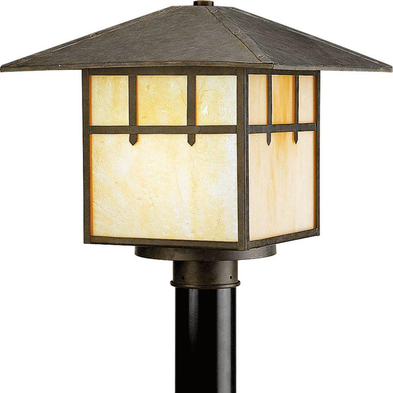 Progress Lighting P5461 Mission Single Light Post Light Weathered Sale $244.88 ITEM: bci2216874 ID#:P5461-46 UPC: 785247172665 :