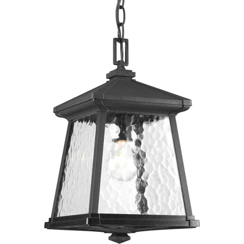 Progress Lighting P5559 Mac Single Light Pendant Black Outdoor