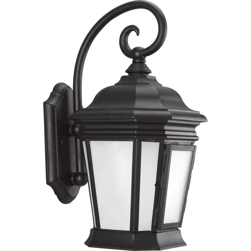 "Progress Lighting P5686 Crawford 1 Light 17"" Tall Outdoor Wall Sconce Sale $189.77 ITEM: bci2216941 ID#:P5686-31 UPC: 785247173266 :"